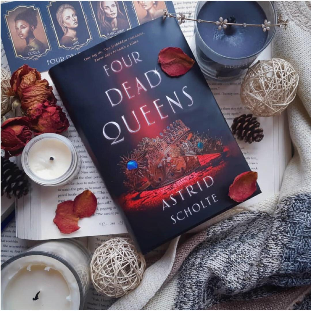 Exclusive Signed edition of Four Dead Queens YA Fiction by Owlcrate