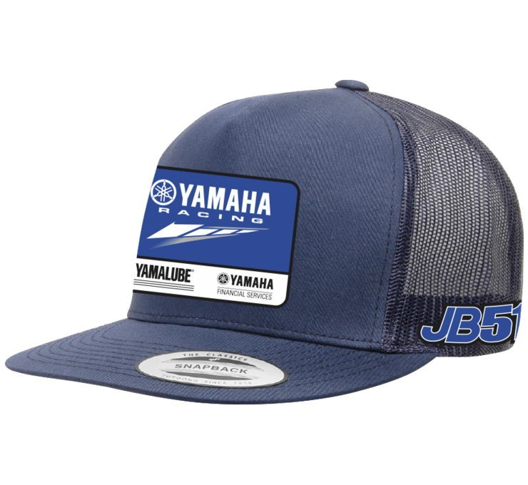 983a80c20e08f Factory Effex Team Yamaha JB51 snapback