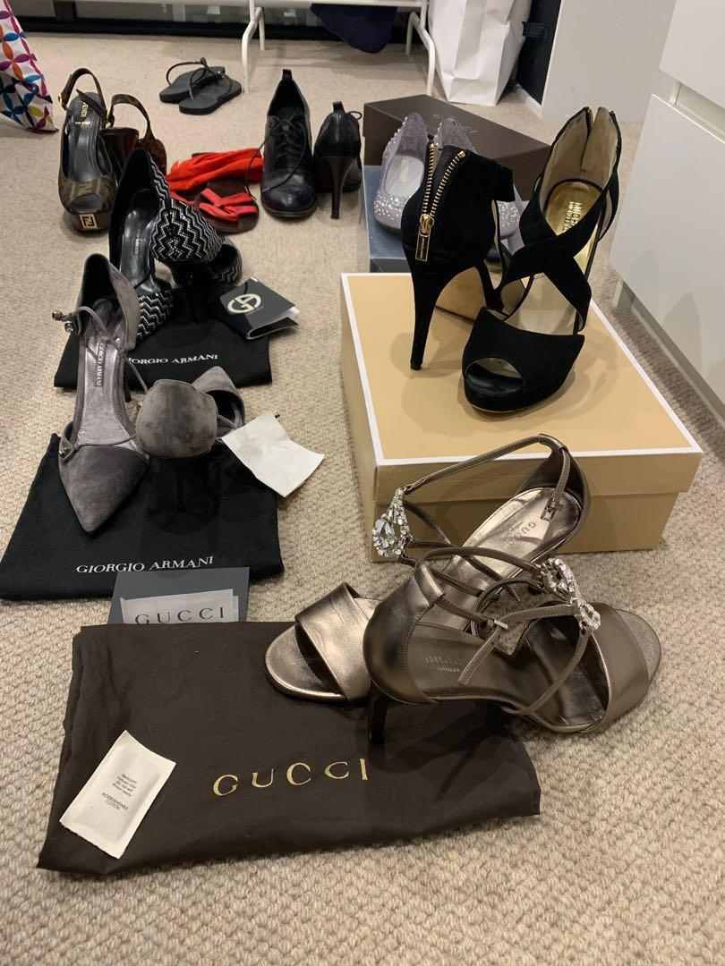 Gucci - Fendi - Armani - Michael Kors shoes