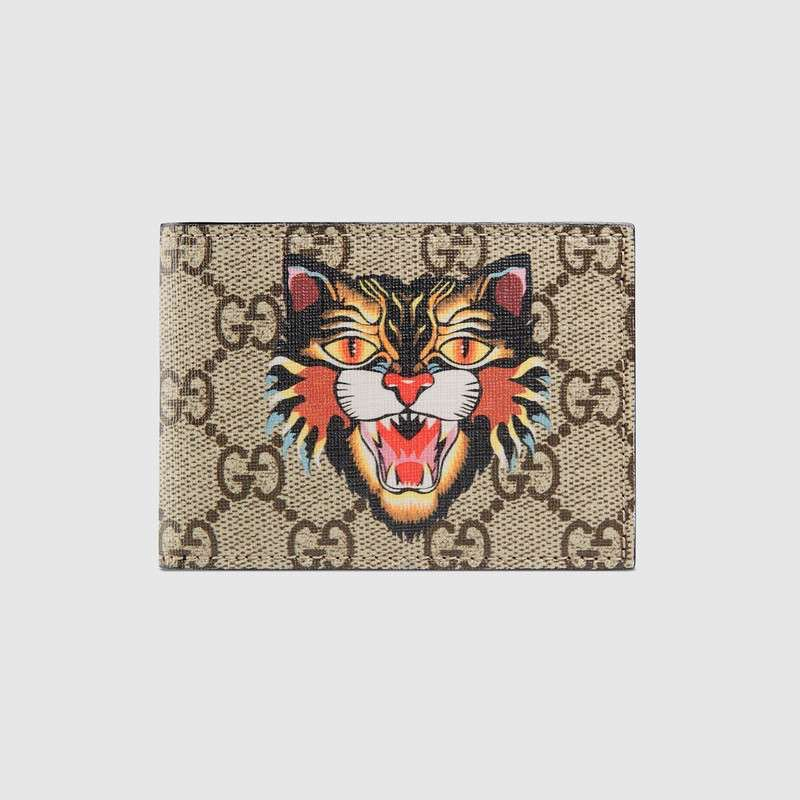 47b81176026 Gucci Angry Cat GG supreme