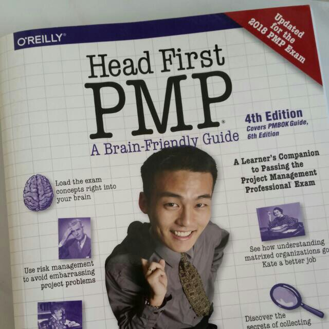 head first pmp latest edition 2018