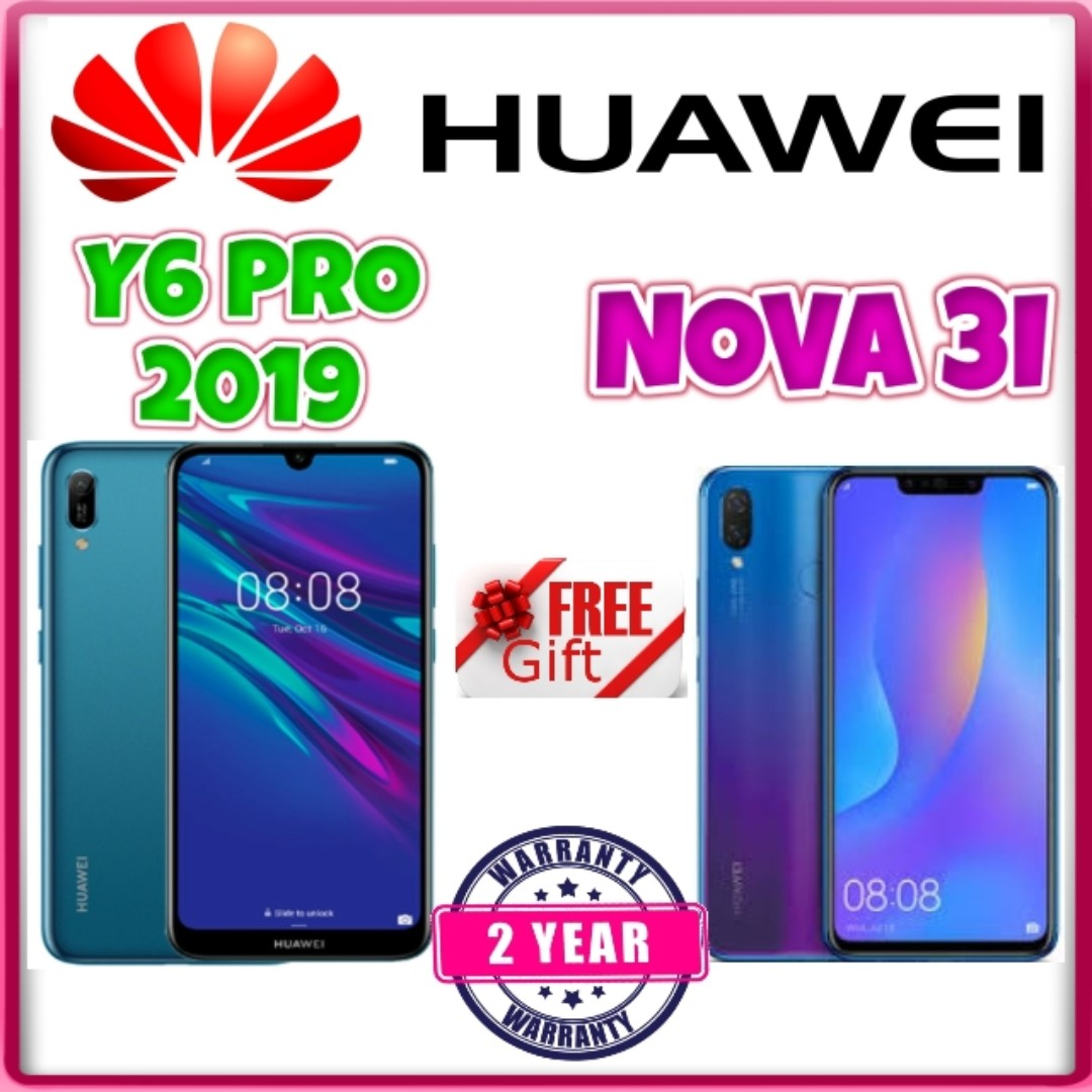 hUAWEI Y6 PRO 2019, NOVA 3I