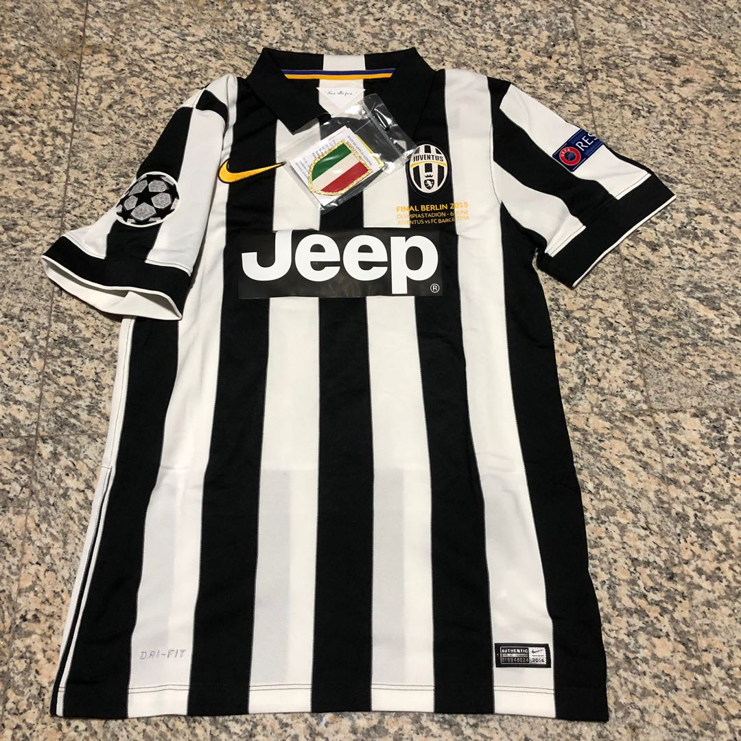 cea345b70 Juventus FC Champions League Final 2015 Jersey