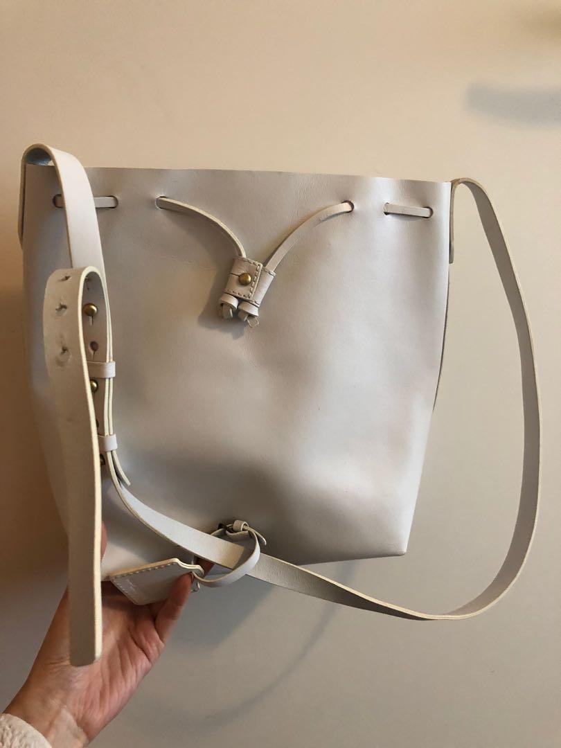Kelsi Dagger leather bucket bag 98new originally $300+