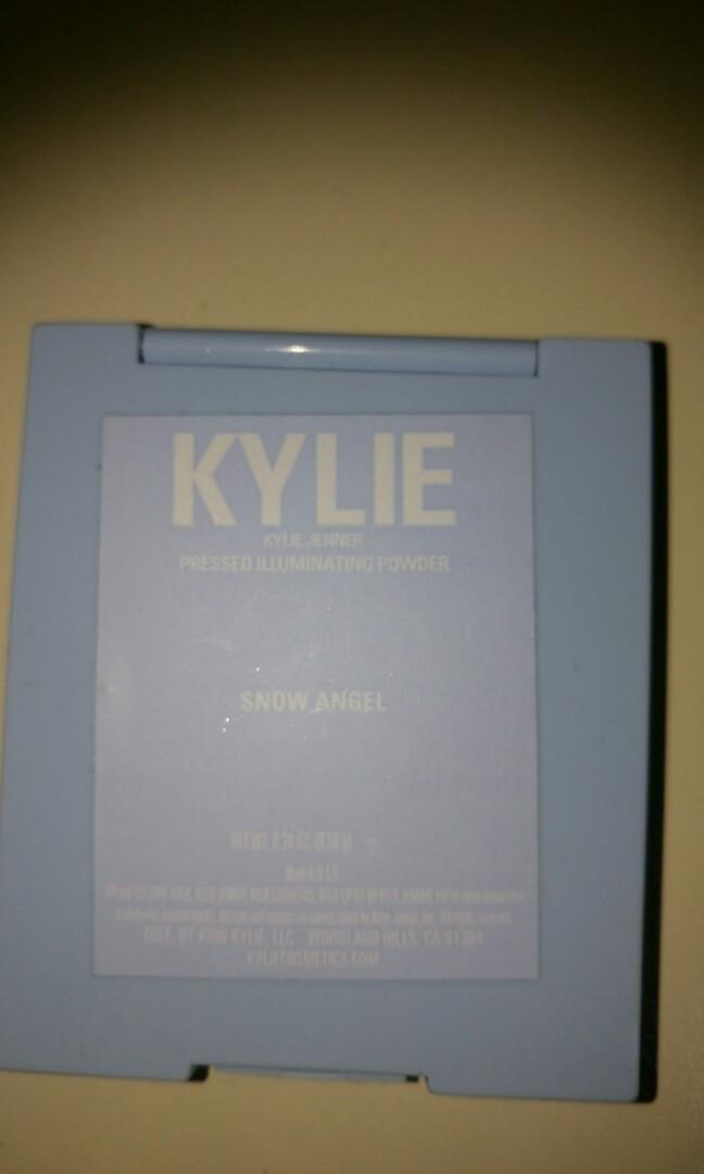 Kylie cosmetics - snow angel highlighter (Xmas 2018/limited edition)