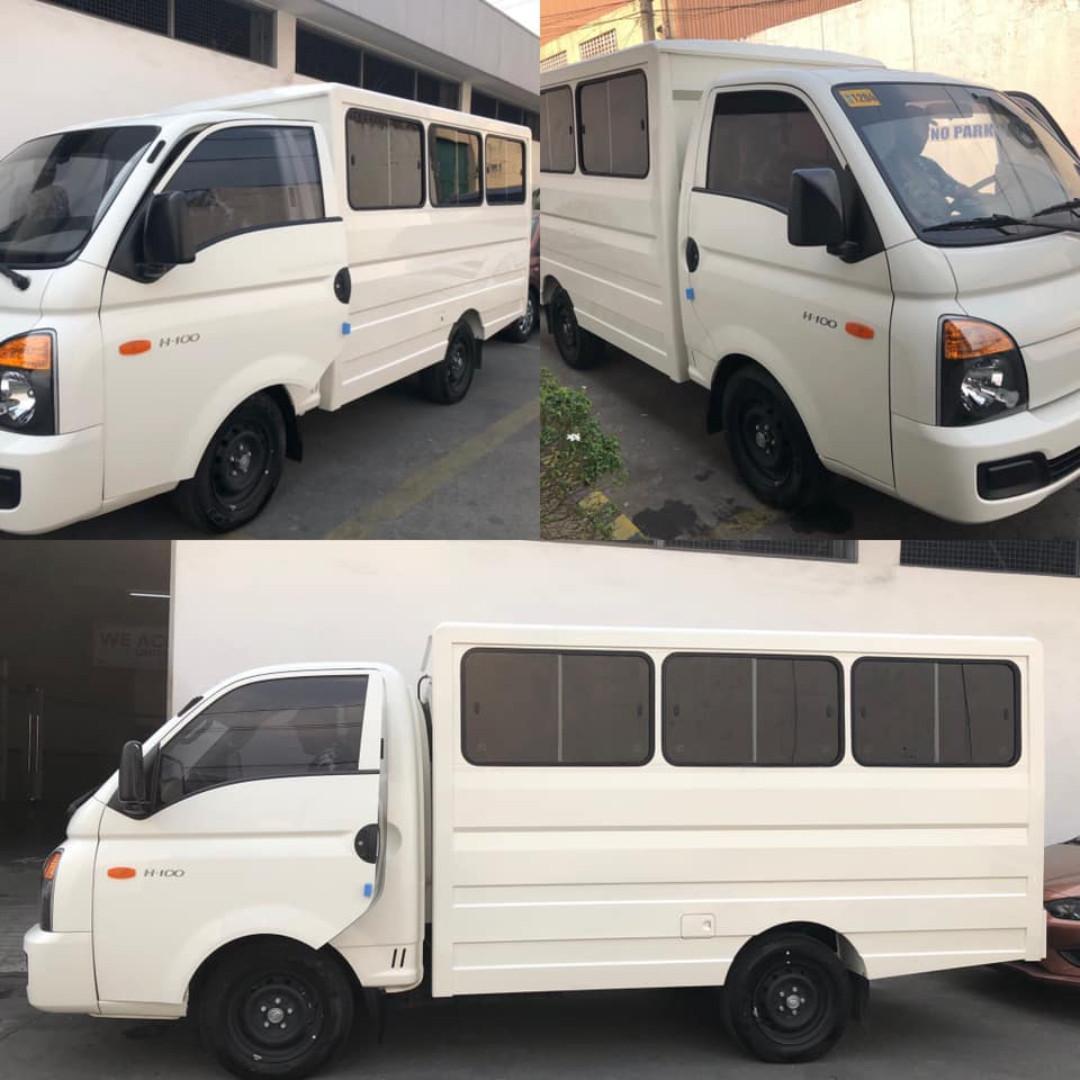 L300 fb van rent. H100 4w Truck closed van for  Hire