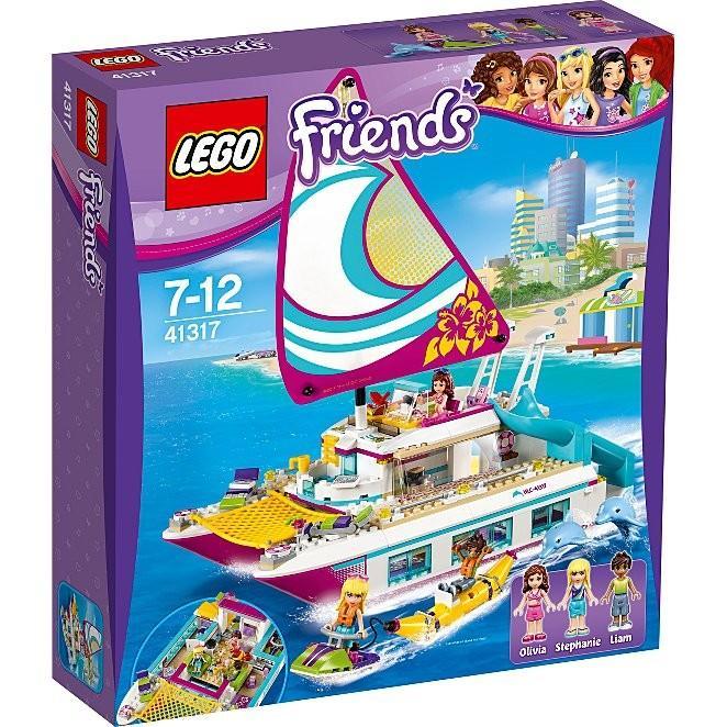 LEGO Friends Sunshine Catamaran 41317 帆船