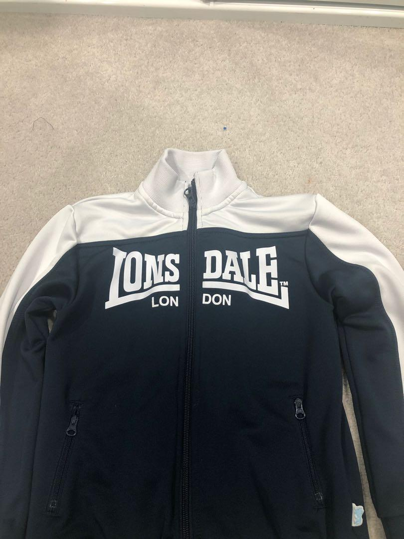 Lonsdale tracksuit Top - Size 7. Only worn a few times