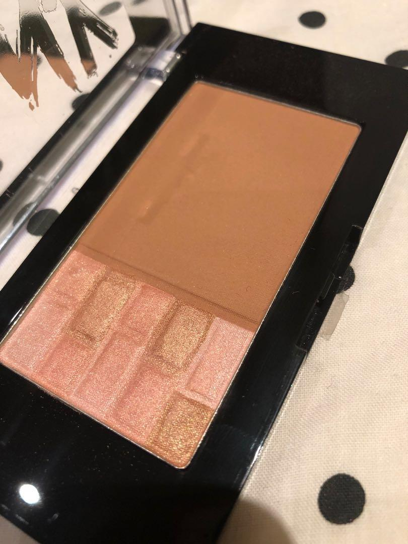 Maybelline Bronzer and highlighter