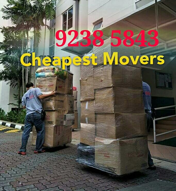 Movers services call 92385843 JohnsionMover