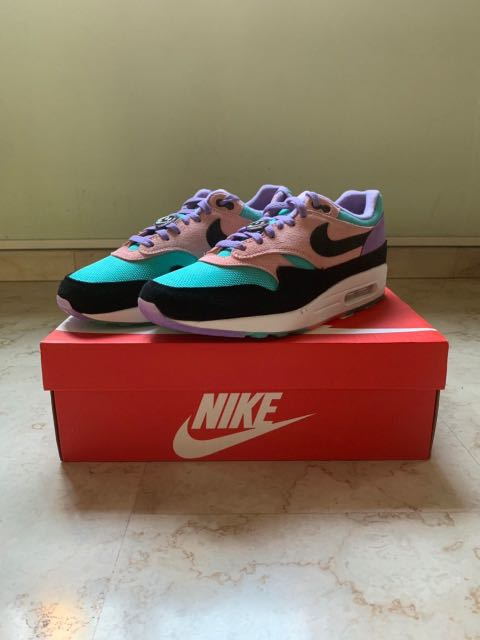 """723b22a4 Nike Air Max 1 """"Have A Nike Day"""", Men's Fashion, Footwear, Sneakers ..."""