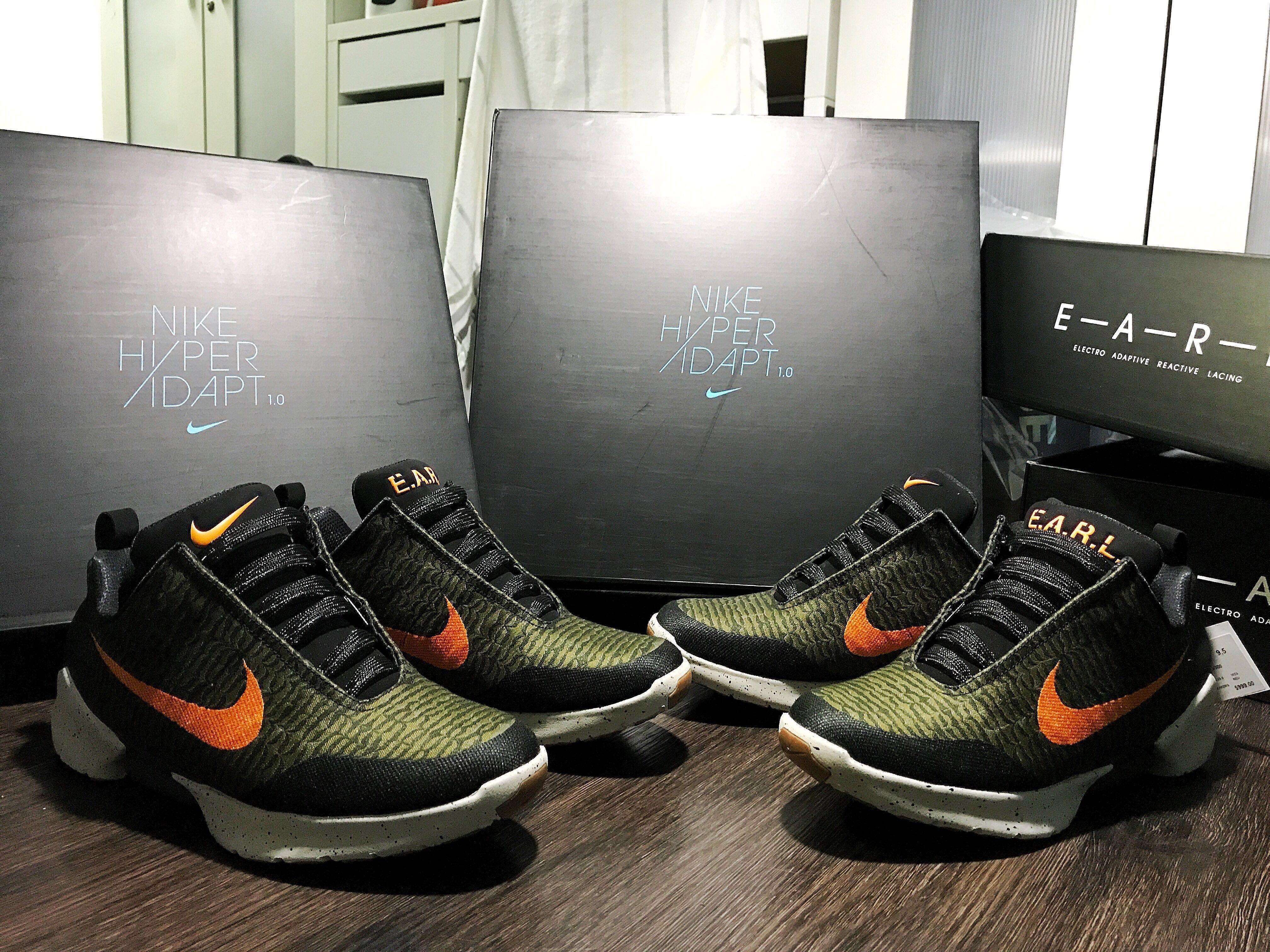 "b5281d994 Nike Hyperadapt 1.0   Olive Flak   ""Sg Exclusive """