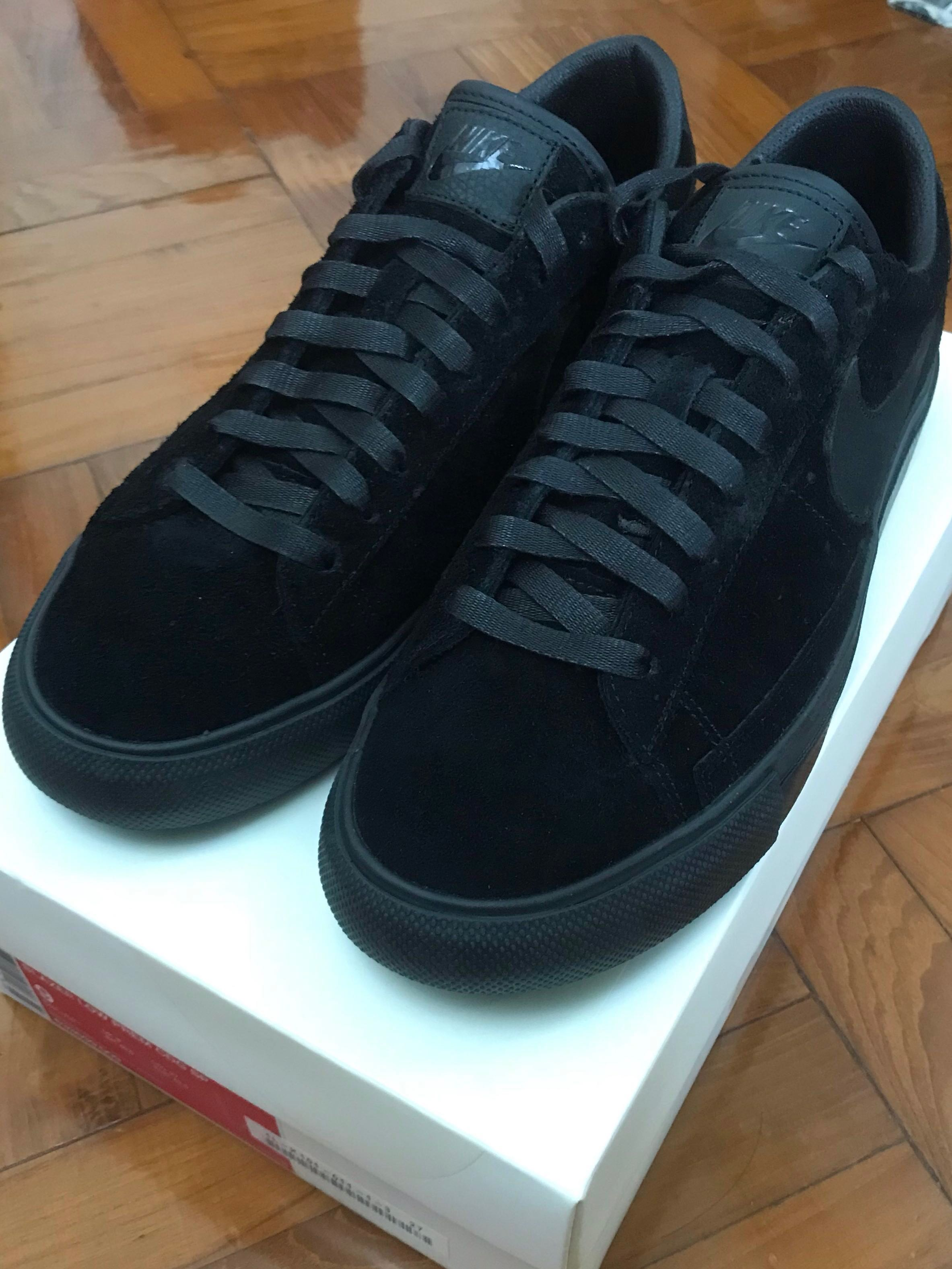 official photos 2e6e5 d63e0 Nike SB Blazer Low Comme des Garcons Black