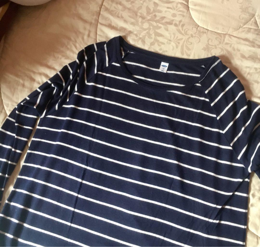 OLD NAVY striped long sleeve top