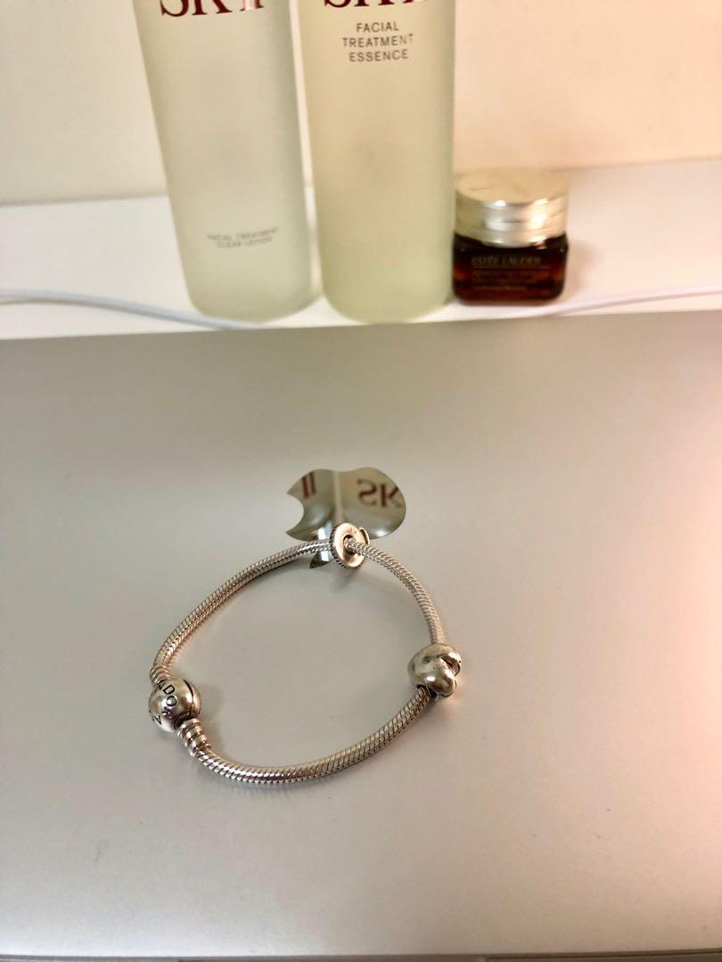 dc62eb20f Pandora bracelet with charms, Women's Fashion, Jewellery, Bracelets ...