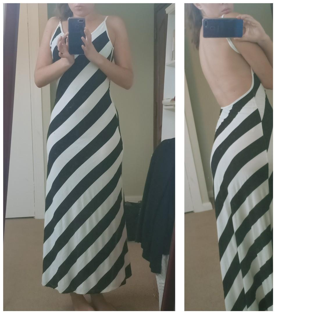 'Paradisco' stripey size 8 dress, worn once in great condition!