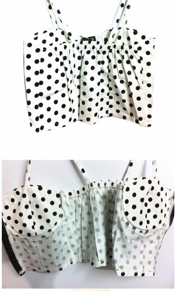 Polka dots retro style