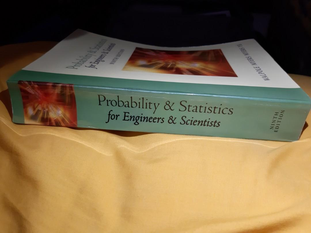 Probability & Statistics for Engineers & Scientists 9th Edition by Walpole Myers