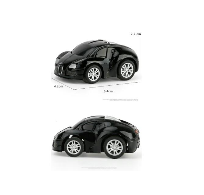 Q version of BQ macarons small alloy car ( children's toy pull back)