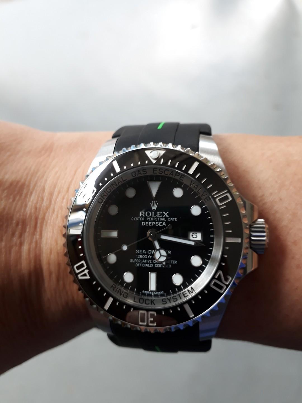 d85b93970a5 Rolex Deepsea Black