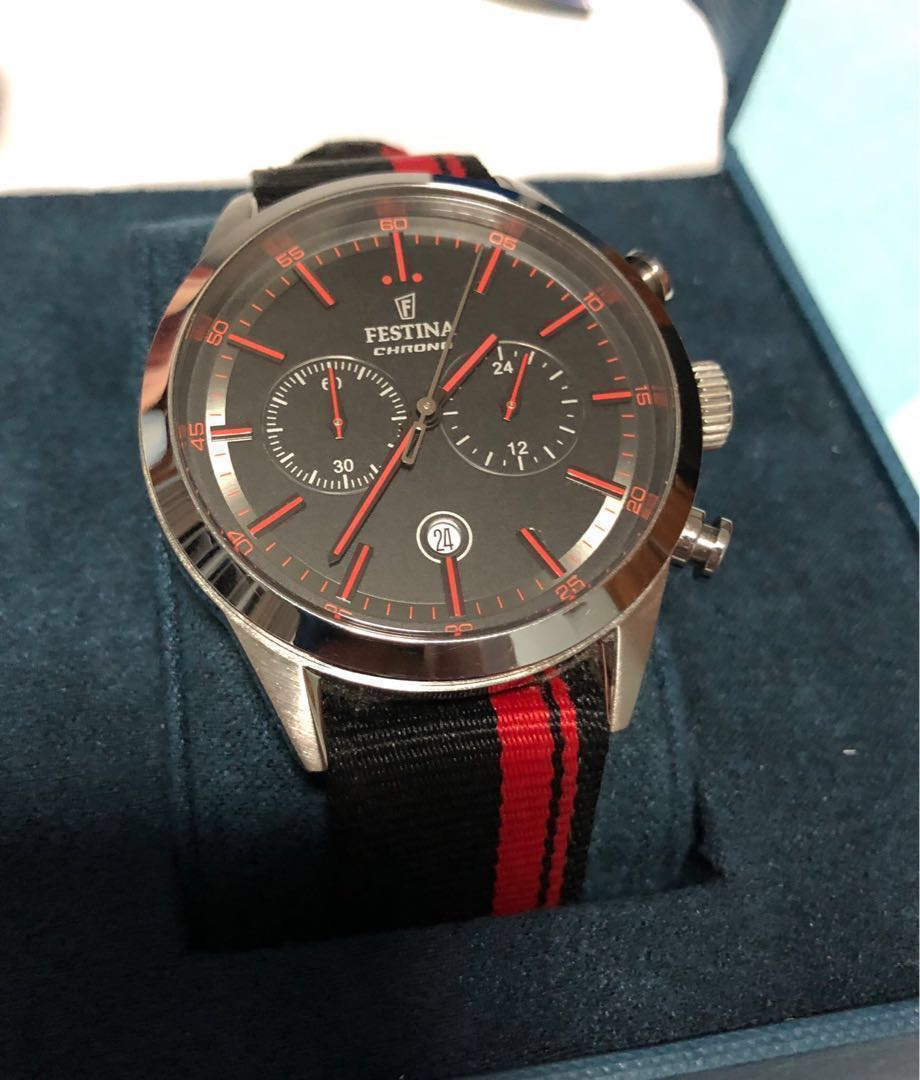 b25ec2ea2 Stylish Swiss Watch (Chronograph), Men's Fashion, Watches on Carousell