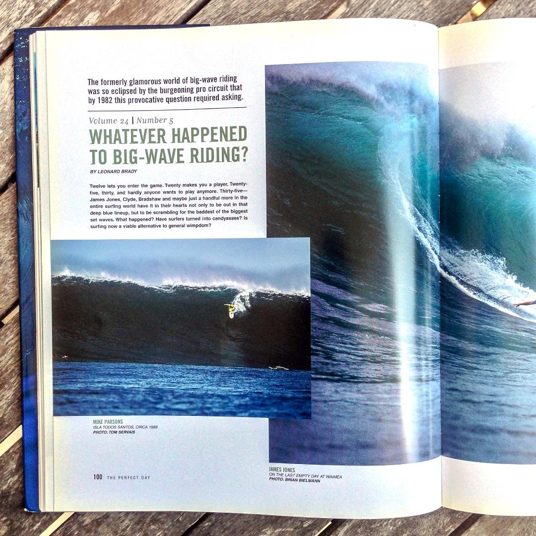 The Perfect Day: 40 Years of Surfer Magazine edited by Sam George (Hardback)