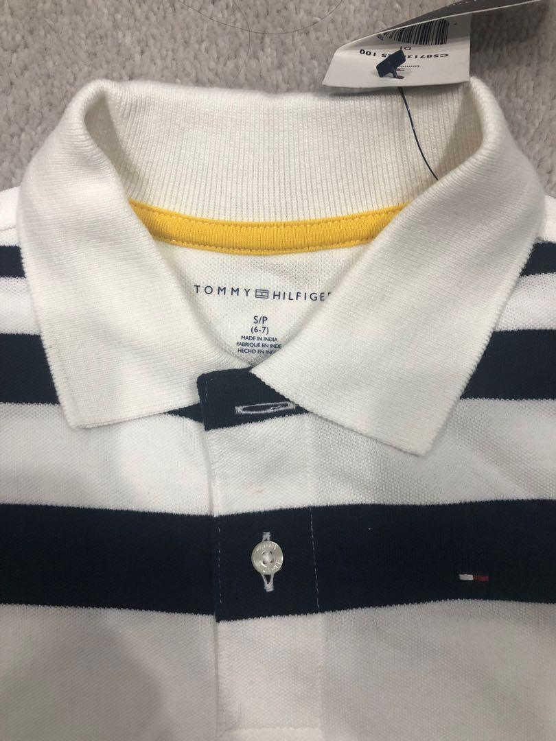 Tommy Hilfiger short sleeve polo top. Brand new with tags