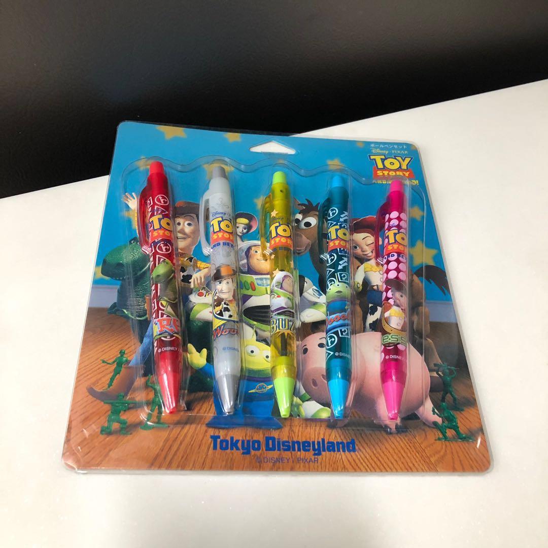 Toy Story Ballpoints Set of 5