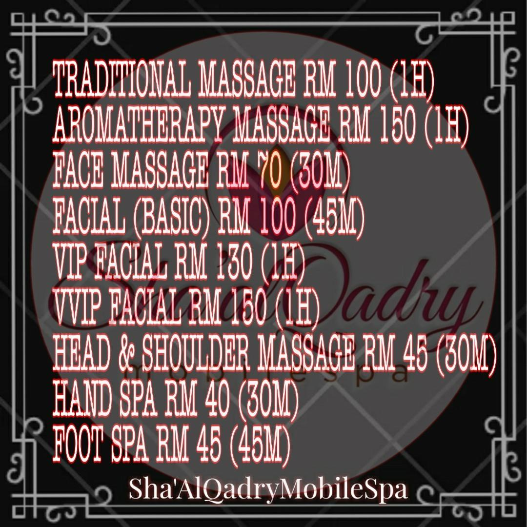 Traditional /Oil Body Massage at your place