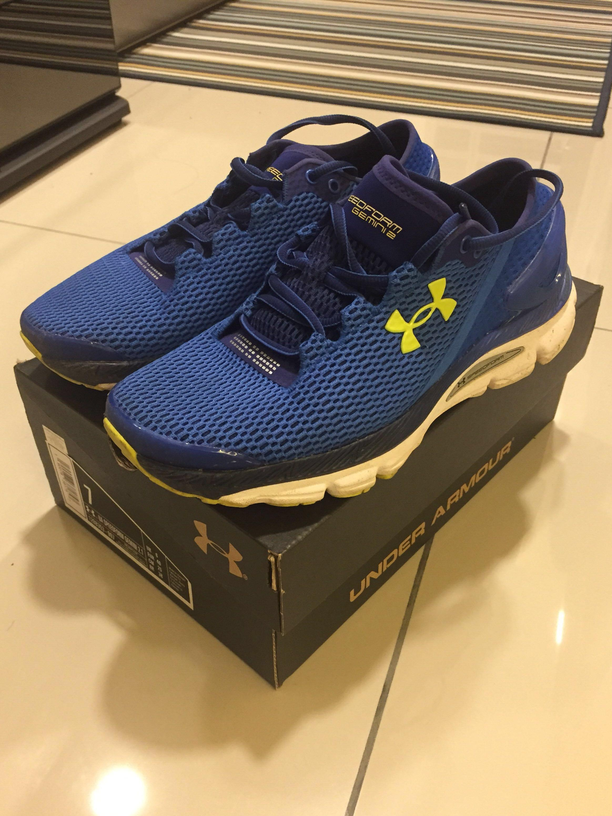 online store 748a4 57827 Under Armour Speedform Gemini 2.1 Running Shoes on Carousell