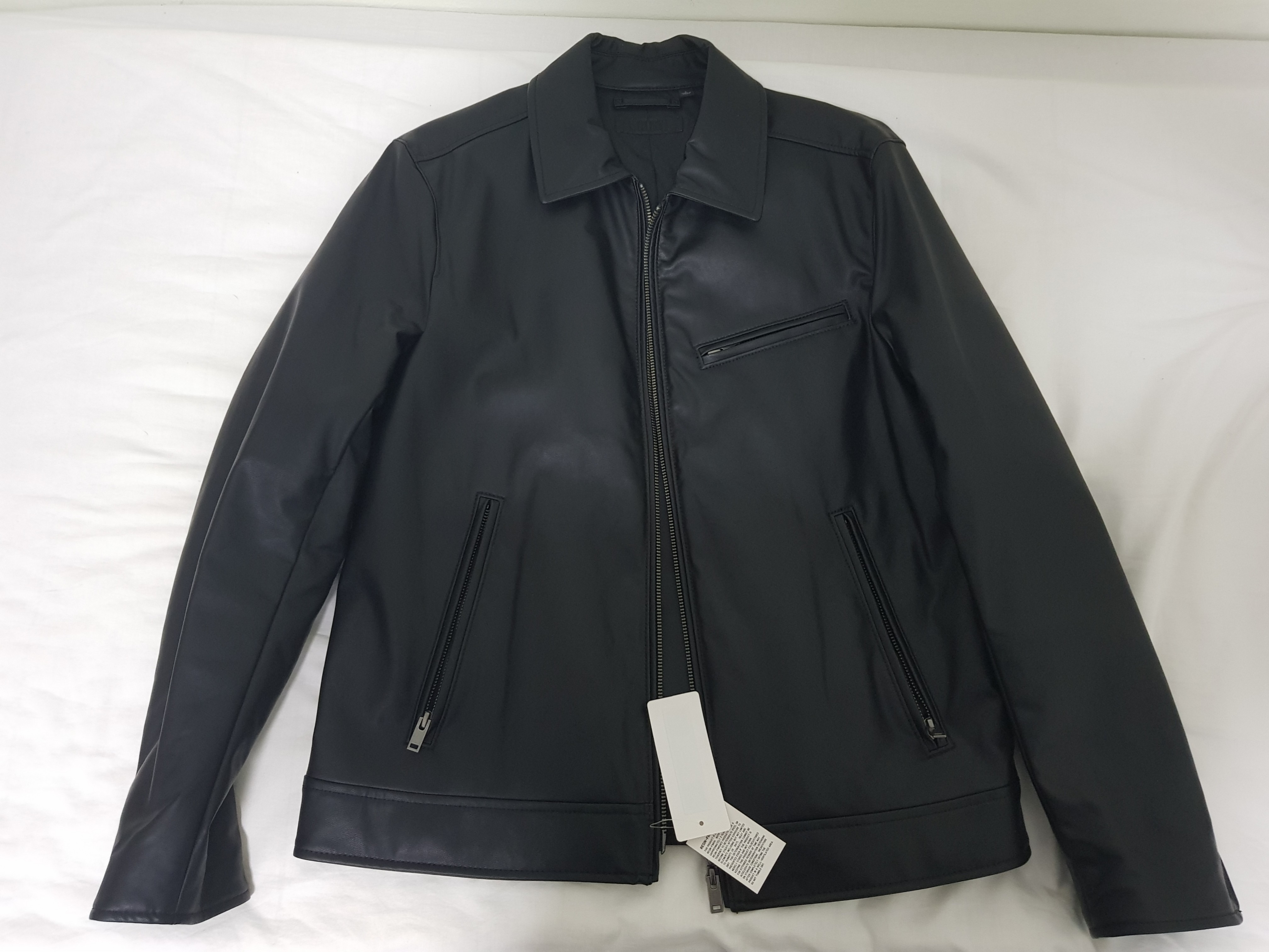 b80bef48c6e8 Uniqlo faux leather jacket for men price reduced, Men's Fashion, Clothes,  Outerwear on Carousell