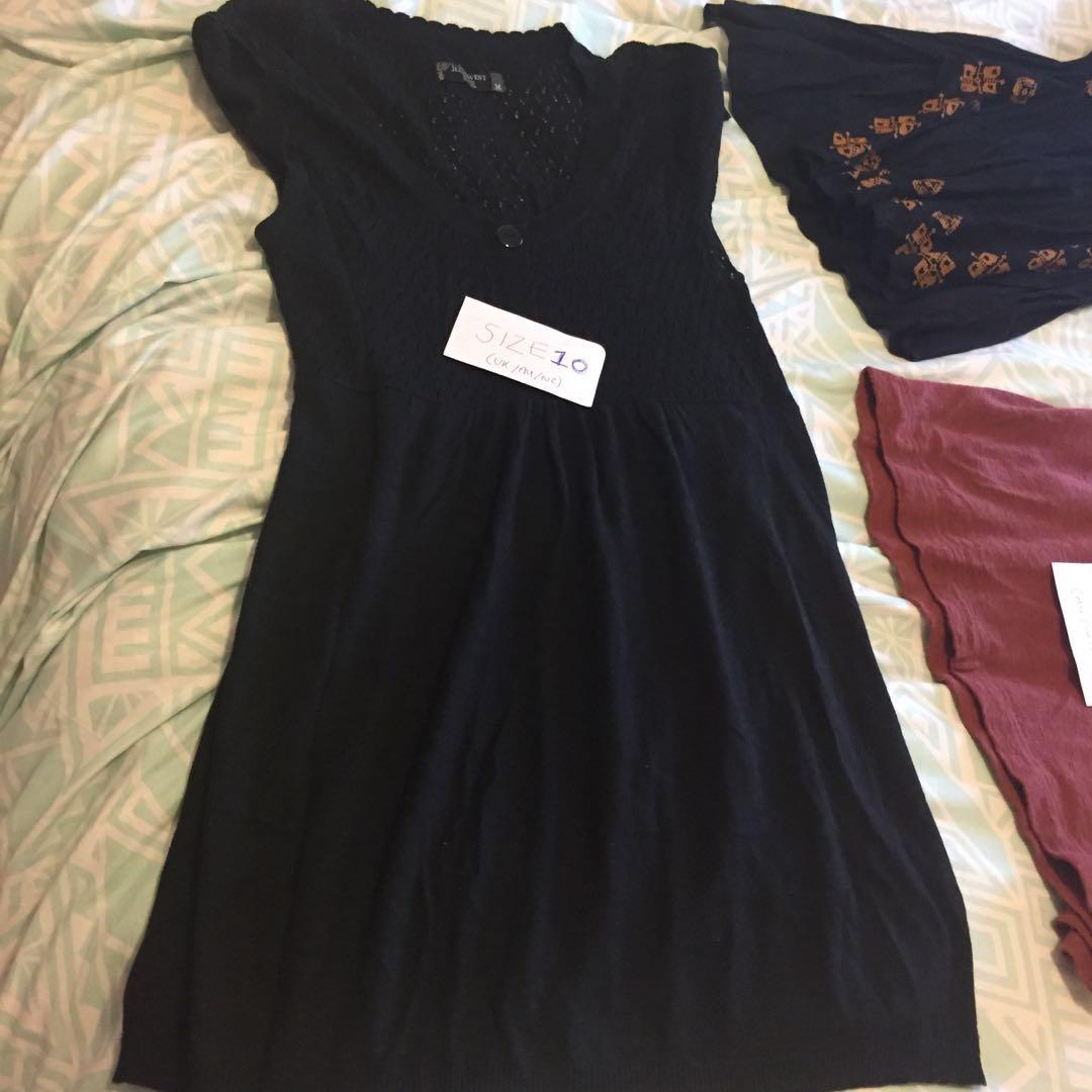 Variety of tops/dresses/skirts @ $7 each or cheap for bundle