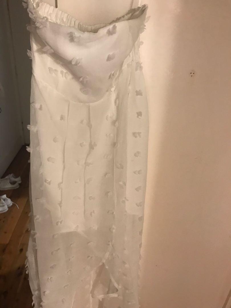 White girlie dress