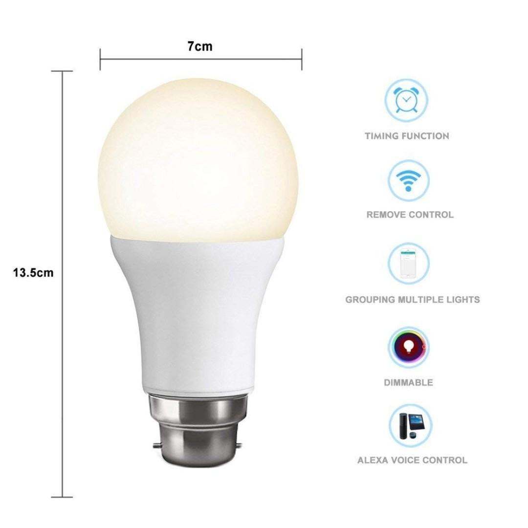 🔥SALES🔥WiFi Smart B22 Bulb LED (YA162)