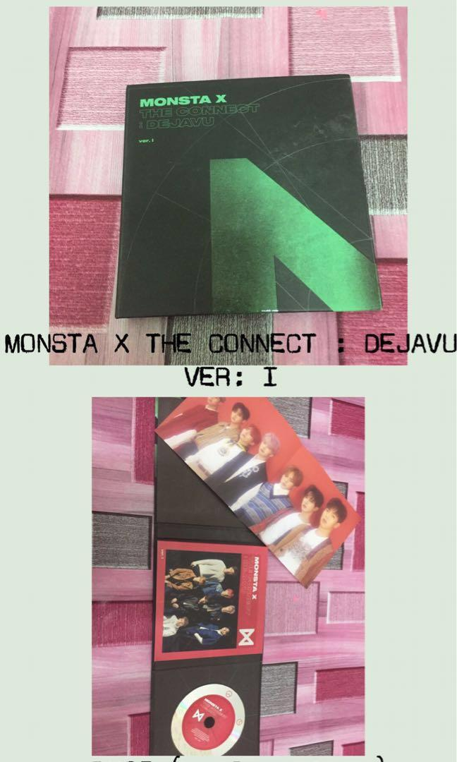 [WTS] PRE-LOVED MONSTA X ALBUMS AND PC & POSTCARDS