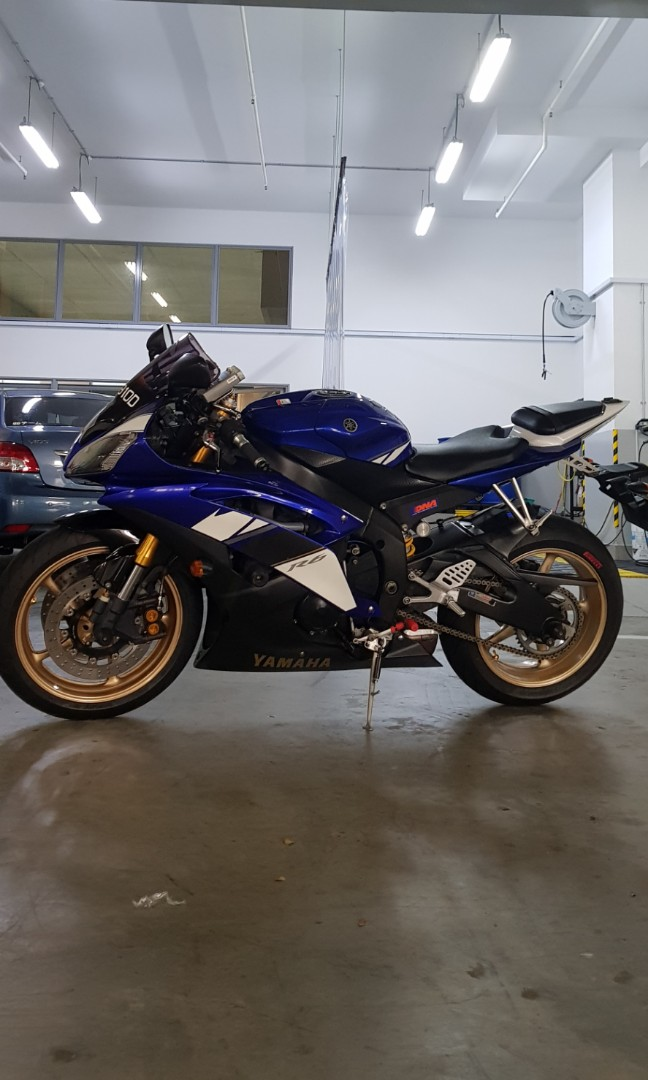 Yamaha R6, Motorbikes, Motorbikes for Sale, Class 2 on Carousell