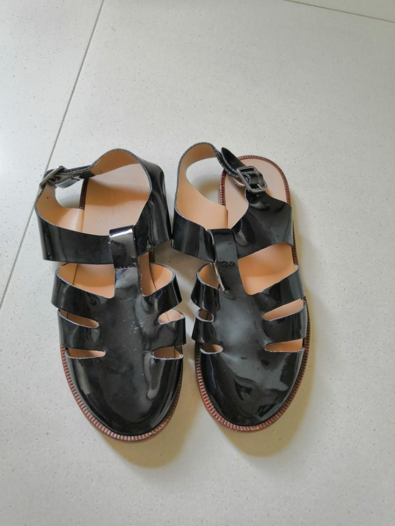Zara 女童真皮鞋