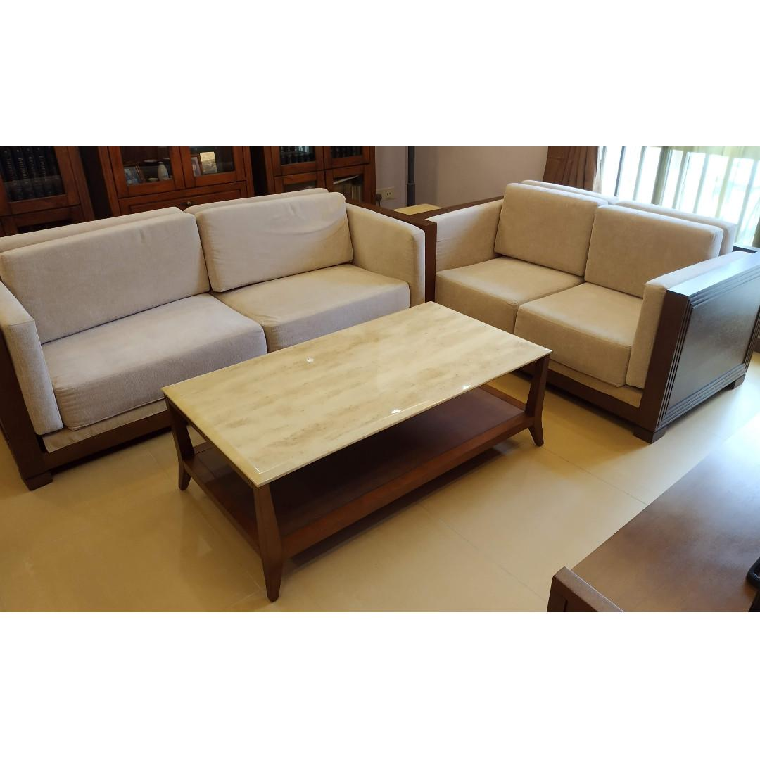 Zen Tradition Brand Sofa Set Clic