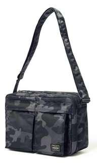 日本制 Headporter Tokyo Jungle L size tanker 迷彩 灰黑 made in japan shoulder bag 斜咩 側咩袋 head porter