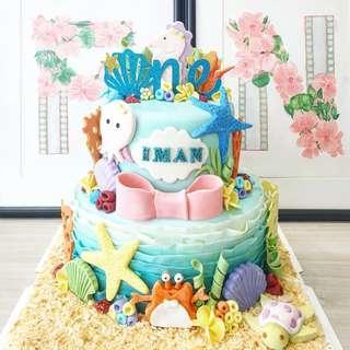 🚚 Under the sea customised cake