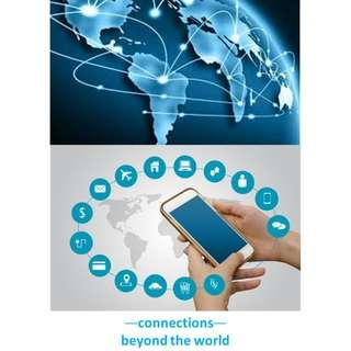 SIM cards worldwide 3G/4G