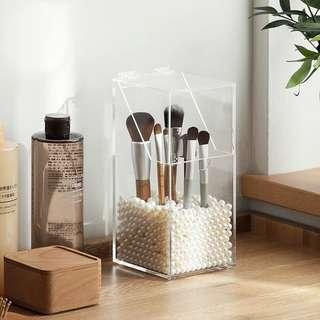 NEW Acrylic Makeup/Brush Organiser with Pearls