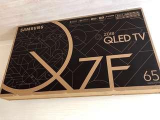 Samsung QLED 65' 電視坐枱腳