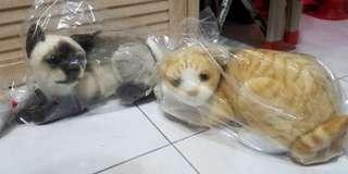 日本  Torbea  Real cat 仿真貓(黃貓sold),只有實物圖1隻