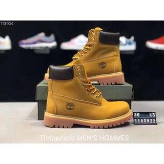 Timberland shoes  for Men and Women  sizes available from 36 - 45