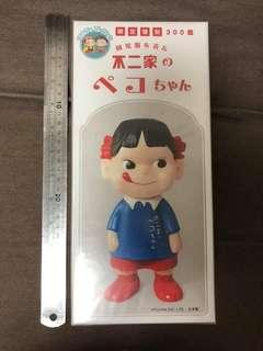 日本製 300隻限定 牛奶妹 Peko chan 膠公仔