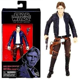 """MISB Star Wars Black Series 6"""" Han Solo (Bespin) #18 Action figure"""
