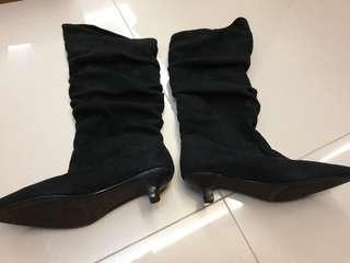 🚚 Suede boots URS
