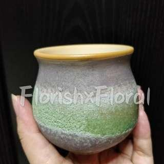 Zen Textured Ceramic Pot #MRTSerangoon