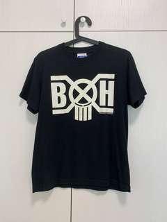 🚚 Bounty Hunter Bxh X Atmos  經典LogoT 夜光 蛇紋 白色 短袖T恤 S號